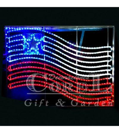Bandera Chilena LED