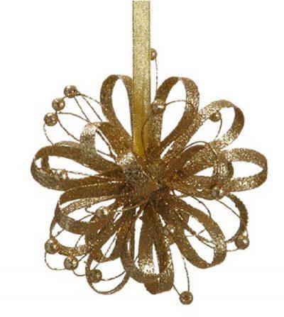 Estrella Colgante dorada