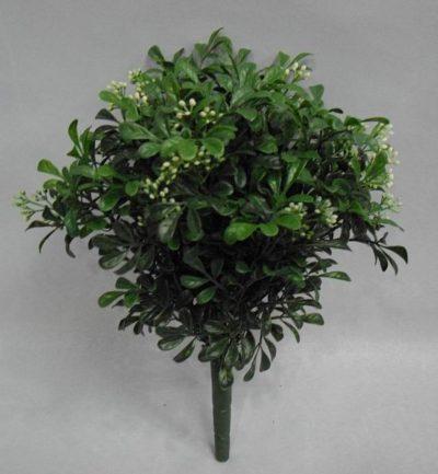 ramo-hoja-chica-con-flores-blanca-16cm-730-0584