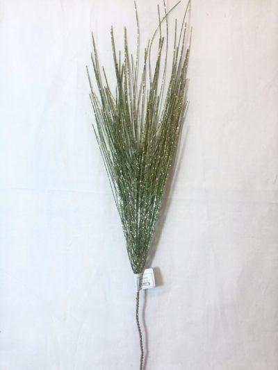 rama de pino con glitter verde grt-002-gr