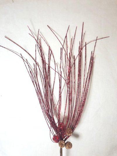 Ramo Rojo con Glitter grt02