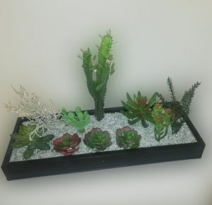 arreglo de cactus alto