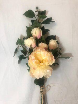 arreglo de rosas damasco
